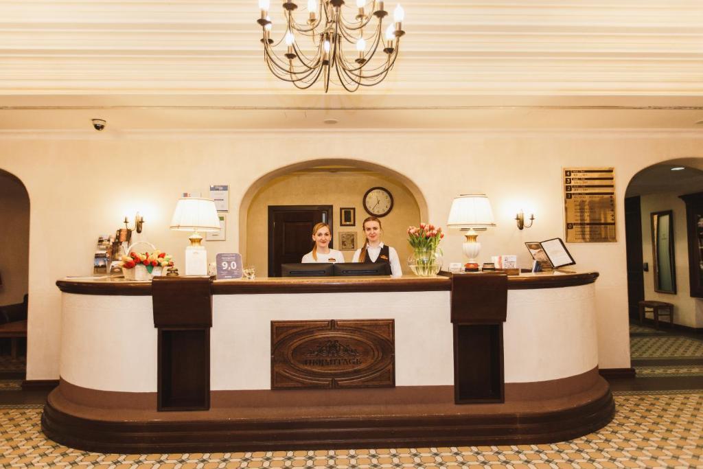 Отель Hermitage - фото №65