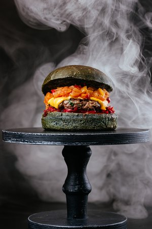 Сетевой фастфуд ресторан Burgerhub - фото №4