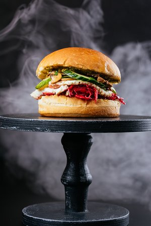 Сетевой фастфуд ресторан Burgerhub - фото №9