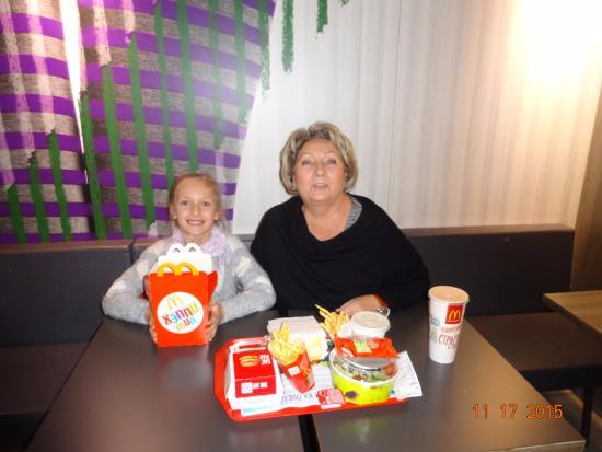 Сетевой фастфуд ресторан МакДональдс - фото №10