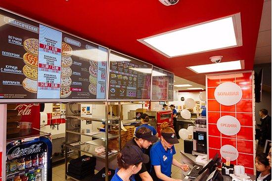Сетевой фастфуд ресторан Dominos Pizza - фото №14