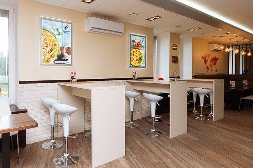 Сетевой фастфуд ресторан Dominos Pizza - фото №11