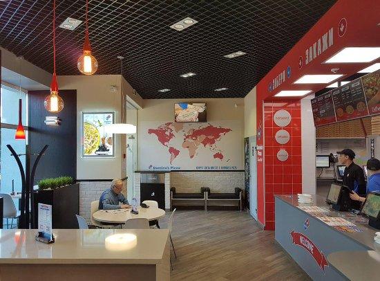 Сетевой фастфуд ресторан Dominos Pizza - фото №16