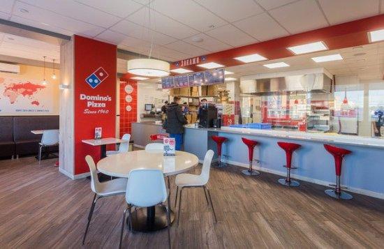 Сетевой фастфуд ресторан Dominos Pizza - фото №22