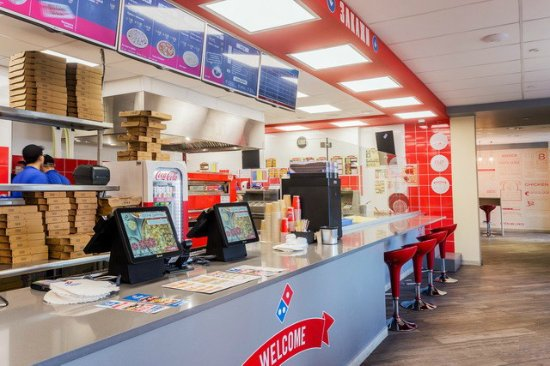 Сетевой фастфуд ресторан Dominos Pizza - фото №23